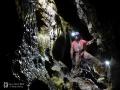 István-lápai-barlang, főág az 1. - 2. szifon között