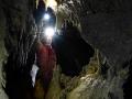 István-lápai-barlang, fosszilis járat a drótkötélhíd túloldala közelében