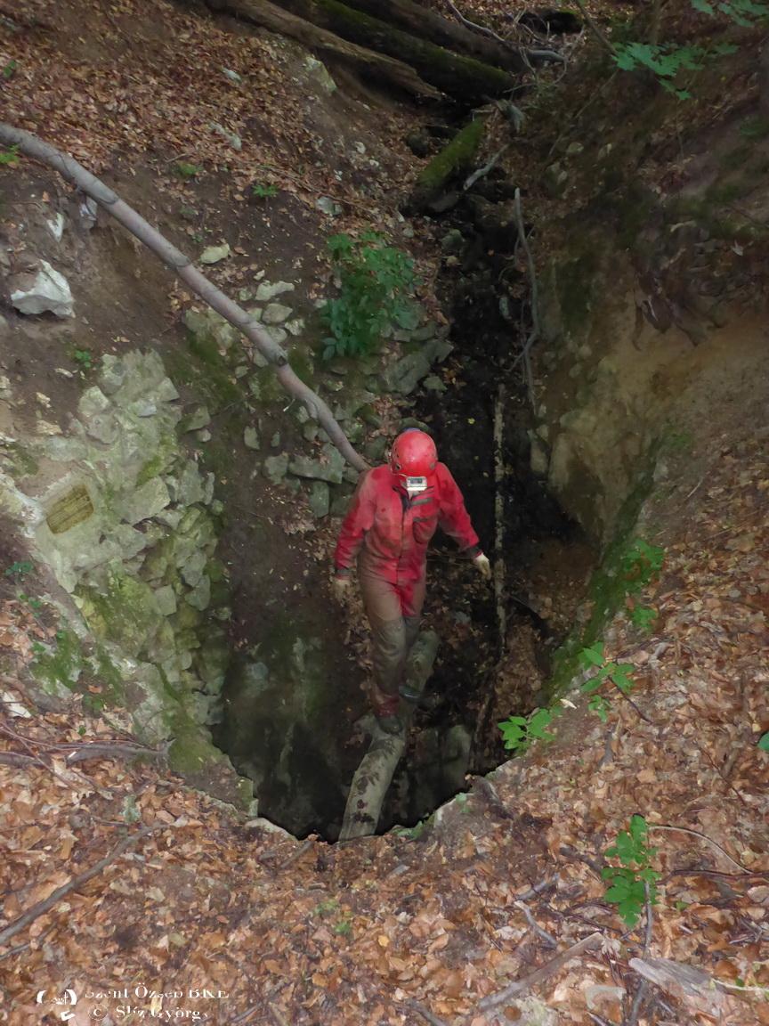 Jávorkúti-víznyelő, bejárat