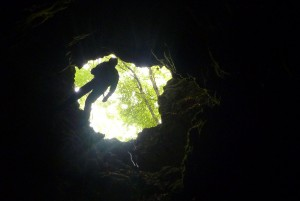 A bejárati akna