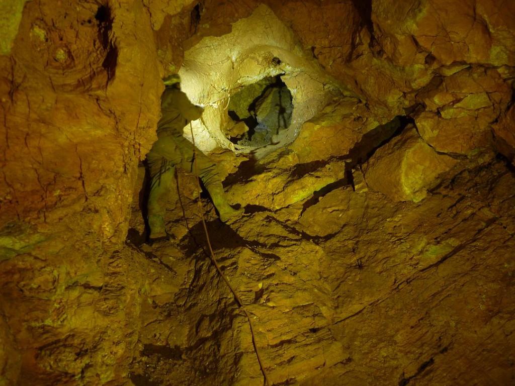 A 2008-ban feltárt mélyponti akna
