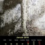 A címlapon (január): Kőszakállú-barlang, Pilis