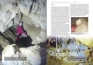 Részlet a Csévi-szirti-barlangrendszer fejezetből