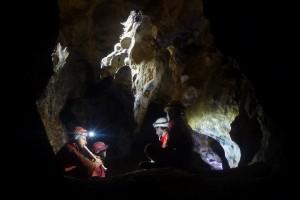 megvizsgáltuk a barlang akkusztikáját is