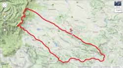 A vízgyűjtő terület körülbelül 60 km2