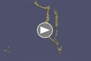 A Bányász-barlangi új kisérleti mérés eredménye videón (a képre kattintva a youtube-on lévő videóhoz jutunk)