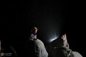 Nehéz kiválasztani, de talán ez lett a tanfolyam során készült barlangfotók közül a legjobb.