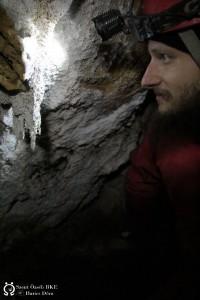 A barlangkutató irigykedve nézi a kőszakállat
