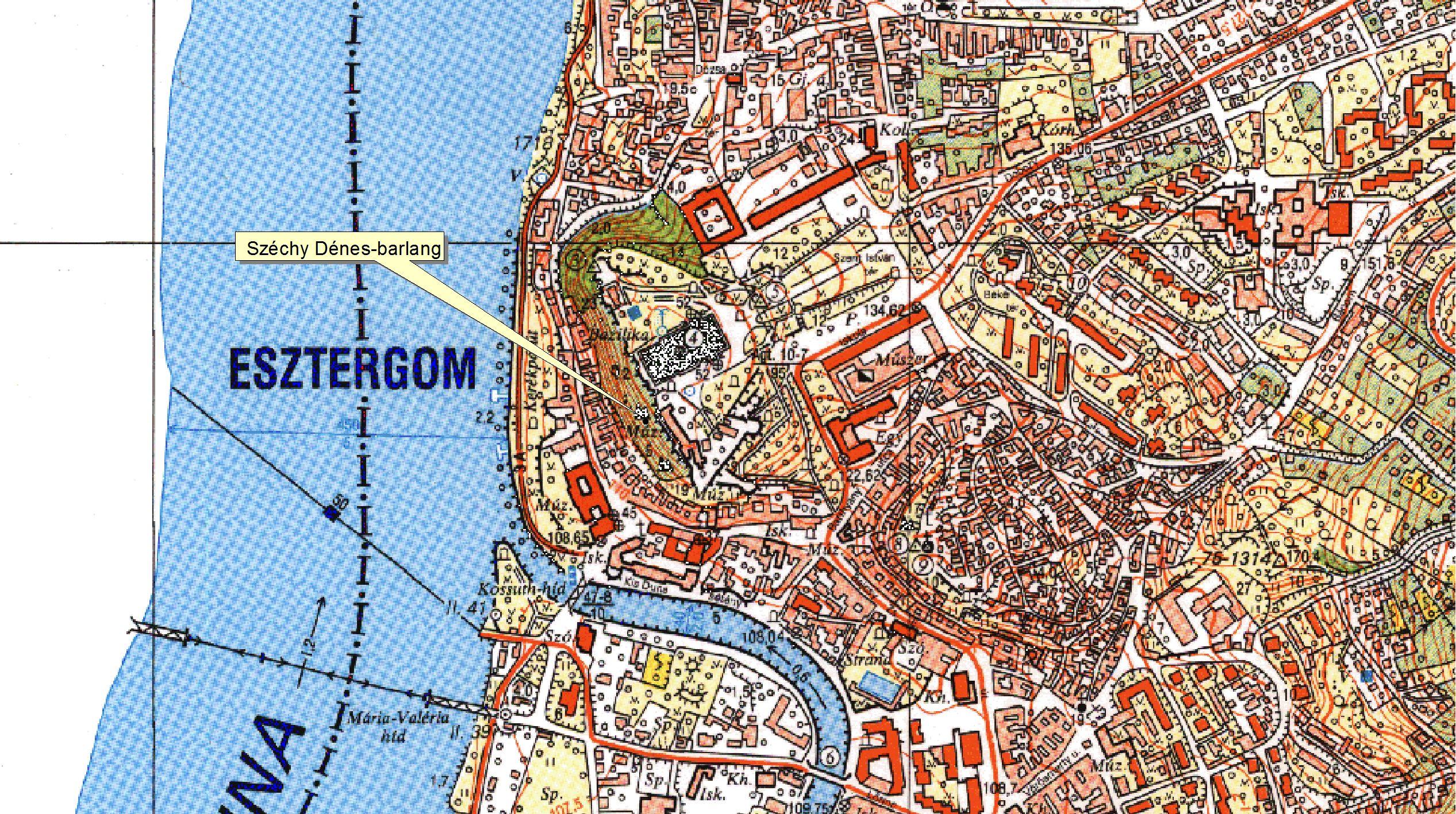 esztergom térkép Négy elfeledett barlang Esztergomban, amelyek nincsenek benne a  esztergom térkép